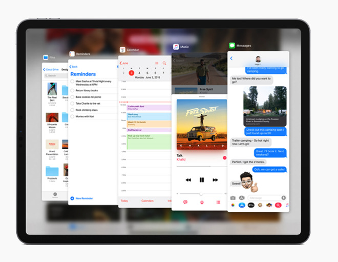 Apple unveils iPad OS, adding features specifically to iPad