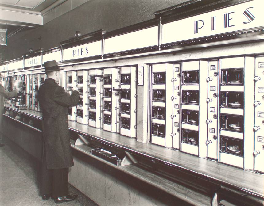 Bring back the Automat!