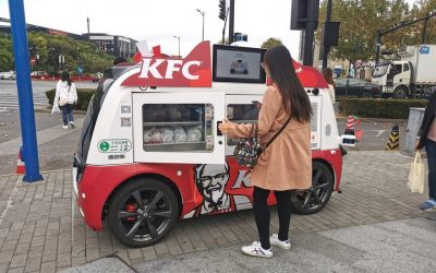 KFC Rolls Out Autonomous, Roving Food Trucks